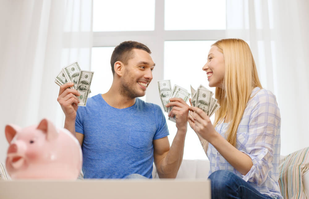 Couple happy with title loan cash